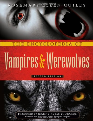 Encyclopedia Vampires Werewolves OUT PRINT product image
