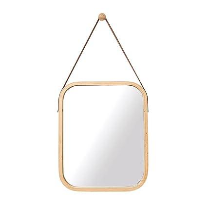 Ordinaire Wall Mirror, Bathroom Wall Mounted Square Mirror Bedroom Mirror Makeup  Vanity Mirror Porch Half