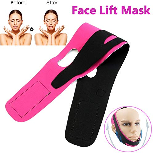 Face Lift Mask Face Slimming Belt Anti Wrinkle Lift V Face Line Face Lifting Slimmer Breathable Chin Lift Band