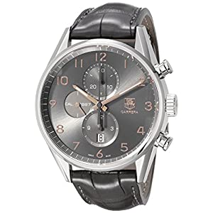 TAG Heuer Men's CAR2013.FC6313 Carrera Analog Display Swiss Automatic Grey Watch