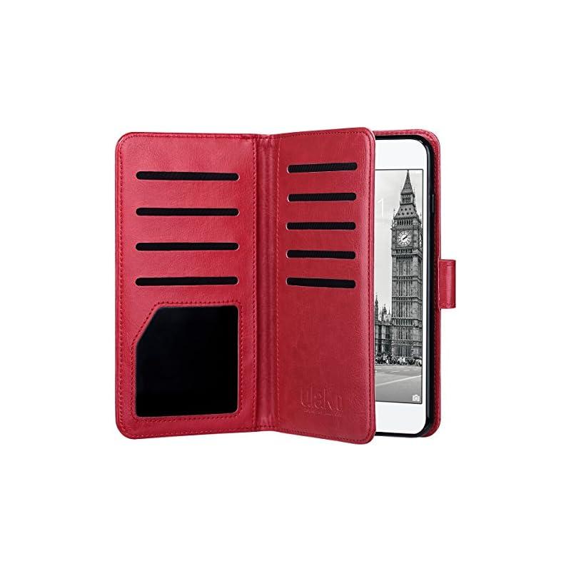 ULAK Flip Wallet Case for iPhone 8 Plus/