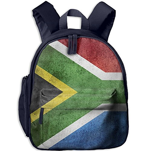 South Africa Flag Vintage Double Zipper Waterproof Children Schoolbag With Front Pockets For Teens Boys Girls by TPXYJOF