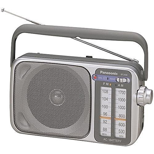 Panasonic RF 2400 Radio Silver Grey