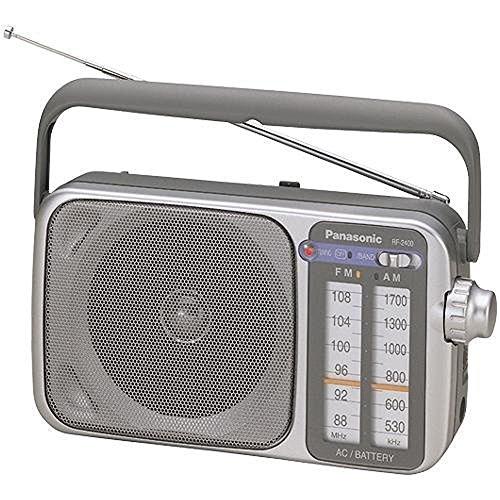 Panasonic RF 2400 Radio Silver Grey