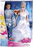 Disney Princess Cinderella and Prince Charming Wedding dolls 2 pack