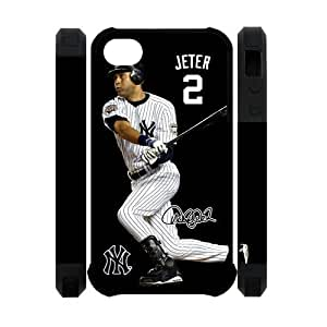 Derek Jeter MLB New York Yankees iphone 5c Case Back Cover Protective Cases at NewOne