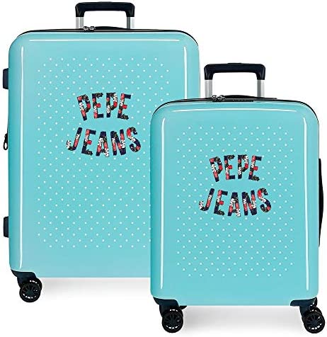 Hartschalenkoffer Set 55-70 cm Pepe Jeans Emory Dots