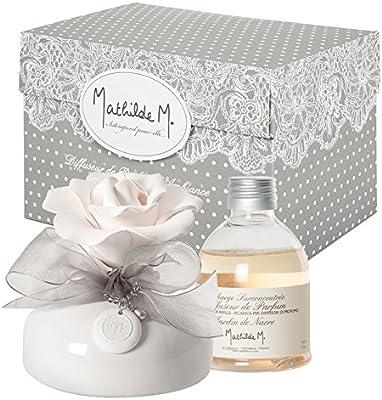 Difusor de aroma de Jardin de nácar Soliflore / - enteramente hecha a mano de la fragancia del jardín de la perla de cada modelo es único en casa - perfume difusor