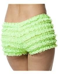 7c6c336f679c Womens Sexy Ruffle Panties Tanga Dance Bloomers Sissy Booty Shorts