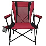 Sporting Goods : Kijaro Dual Lock Hard Arm Portable Camping and Sports Chair