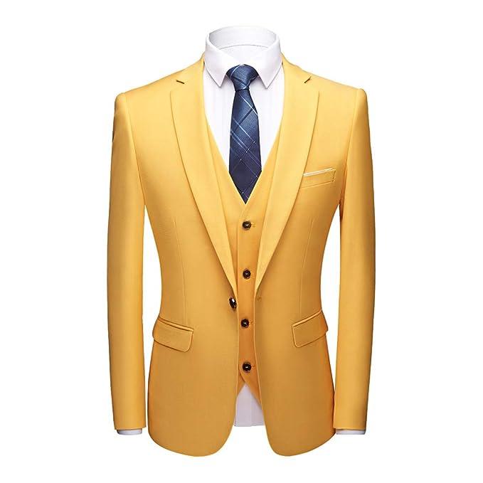 Amazon.com: Conjunto de pantalones para hombre, ajustados, 3 ...