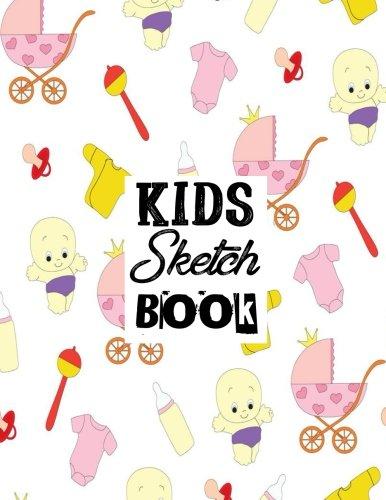 Kids Sketch Book: Blank Sketchbook Angels Theme For Kids Large Size 8.5 x 11 100pages (Volume 15) PDF