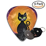 Black Cat Classic Guitar Picks For Electric/acoustic Guitar,and Bass