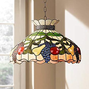 Ripe Fruit 3-Light Tiffany Style Glass Pendant Light - Robert Louis Tiffany