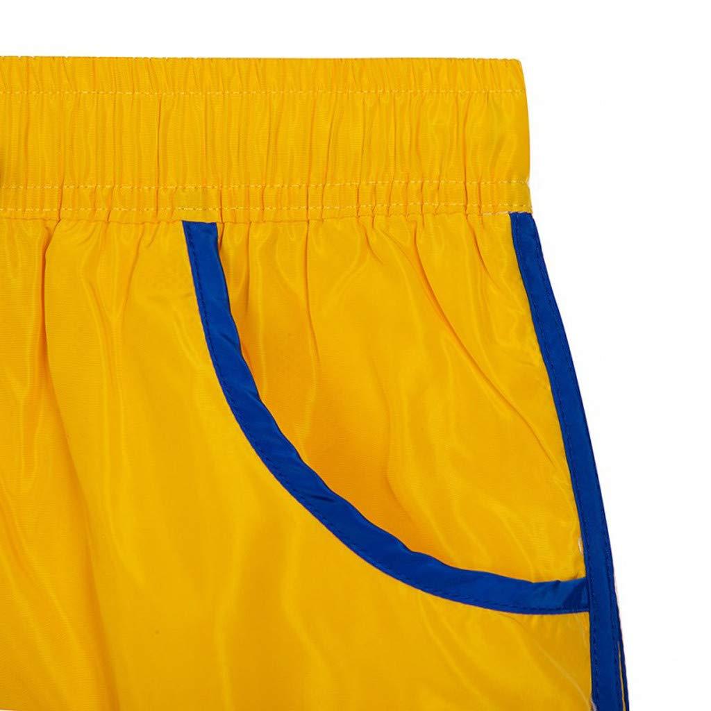Dumanfs Summer Mens Fashion Casual Beach Surfing Swimming Sports Loose Short Pants