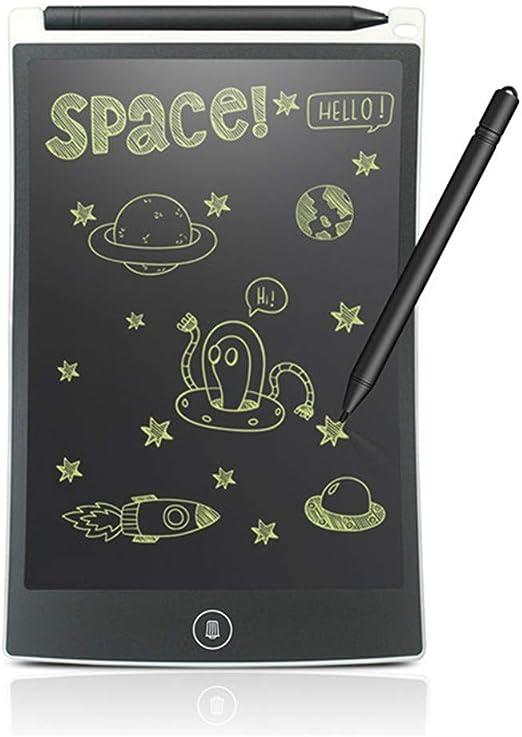 8.5インチLCDライティングタブレットデジタルドローイングタブレット手書きパッドポータブル電子タブレットボード超薄型ボード,白
