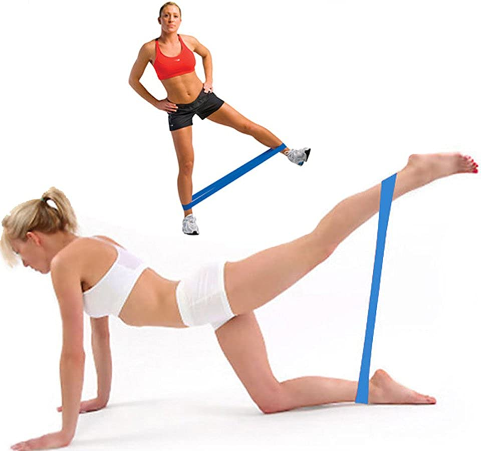 Yoga Pilates Widerstandband Fitnessband Klimmzugband Pull Up Resistance Band Gym