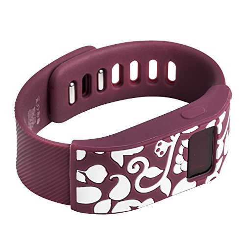french-bull-fitbit-charge-fitbit-charge-hr-slim-designer-sleeve-band-cover-vines-burgundy-white