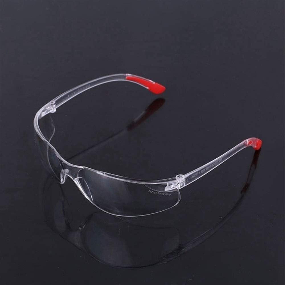 DER Gafas de Seguridad, Suministros Gafas de Seguridad Protección de los Ojos Lab 1PCS Lente Clara del Lugar de Trabajo Gafas Protectoras Gafas de Seguridad para Uso Personal, Profesional