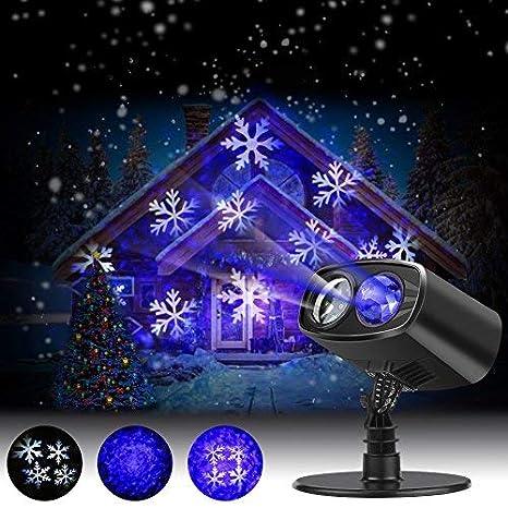35538f0fa5f Luces de Proyector Navidad LED Nieve