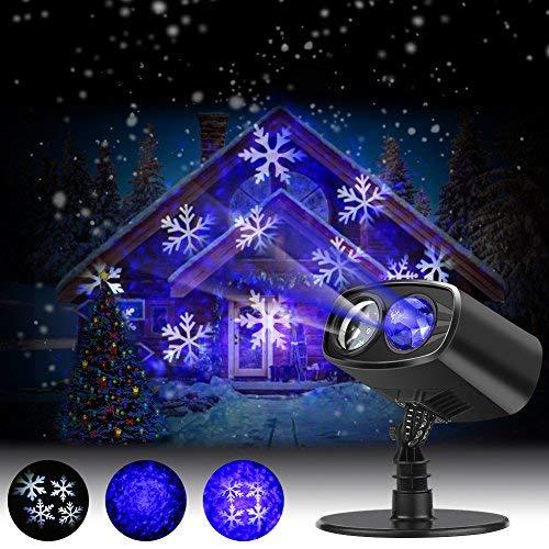Proyector luces navidad exterior