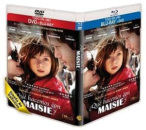 ¿Qué Hacemos Con Maisie? (BD + DVD) [Blu-ray]