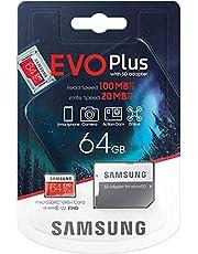 Samsung Evo Plus 2020 64 GB flash-geheugen MicroSDXC Class 10 UHS-I