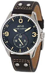 AVI-8 Men's AV-4002-02 Hawker Harrier II Analog Japanese-Quartz Brown Watch