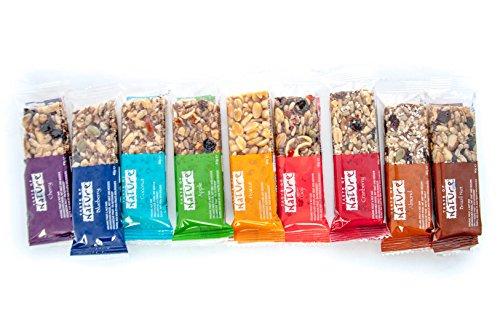 Taste of Nature Bio Müsliriegel Organic Nut Bar - Probierset mit 9 Sorten (jeweils 40 g)