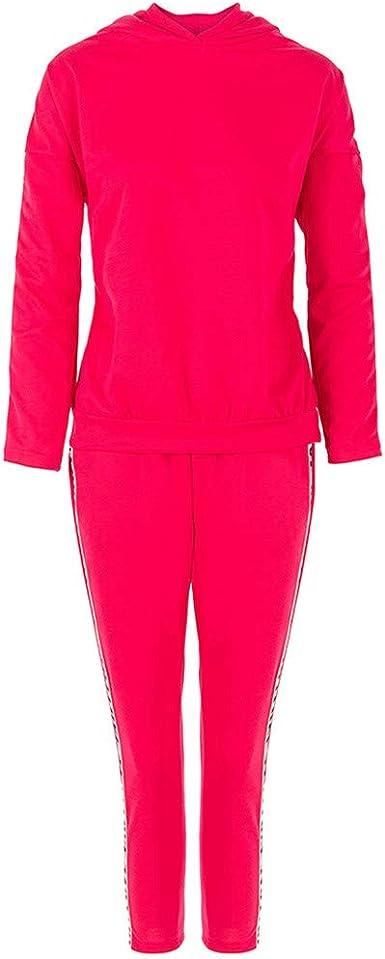 2pcs Women Set Sport Suit Tracksuit Outfit long Sleeve Letter Print Sweatshirt