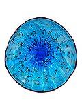Dale Tiffany Wrightwood Art Glass Wall Decor Plate