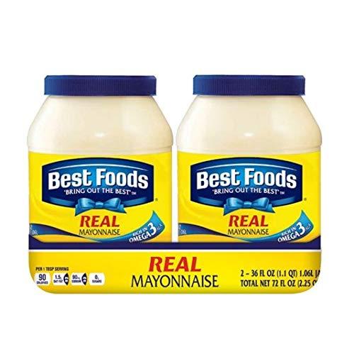 Best Foods REAL Mayonnaise - BONUS! 30oz jar (4 jars) by Best Foods