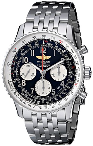 Breitling Men's AB012012/BB02SS Black Dial Navitimer 01 Watch ()