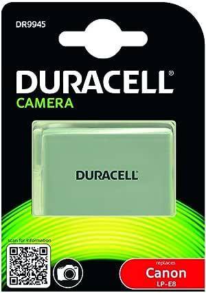 Duracell DR9945 - Batería para cámara Digital 7.4 V, 1020 mAh (reemplaza batería Original de Canon LP-E8): DURACELL: Amazon.es: Electrónica