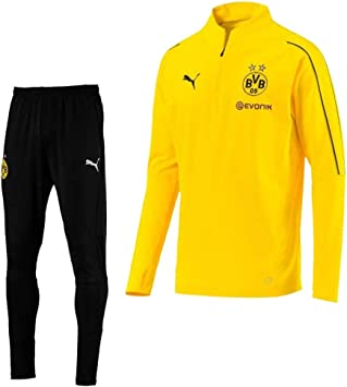 Recuerdo codo juicio  Puma Borussia Dortmund 2018/2019 - Chándal con Cremallera (1/4