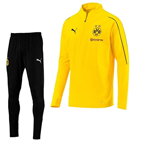Puma Borussia Dortmund 2018/2019 - Chándal con Cremallera (1/4 ...