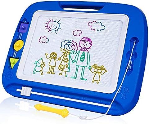 SGILE Pizarra Magnética Infantil, Grande Color Magnético Doodle ...