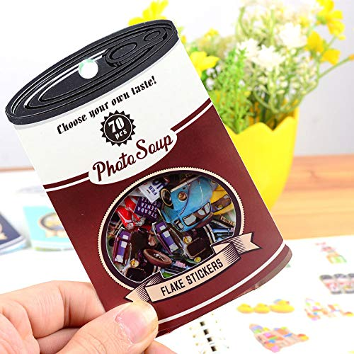 Best Quality - Memo Pads - Colorful Coke Bottle 3D Kawaii Stickers Diary Planner Journal Note Diary Paper Scrapbooking Albums PhotoTag - by PPL21-1 PCs