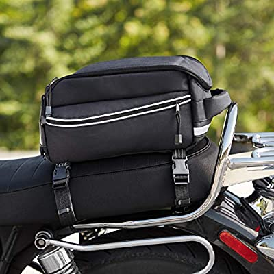 Basics Motorcycle Tail Bag: Automotive