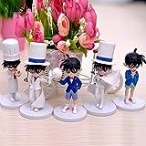 5pcs/Set 12 cm Detective Conan Action Figure Toy Set