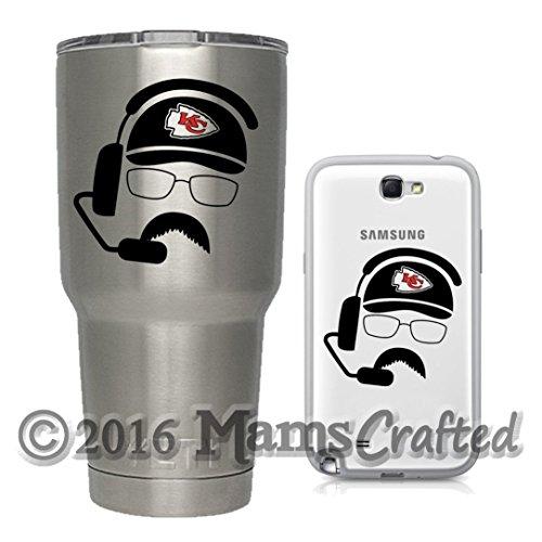 Andy Reid Parody Decal   Kansas City Chiefs Inspired Vinyl Decal   Yeti   Water Bottle   Cup   Laptop   Phone   Tablet   Bumper Sticker