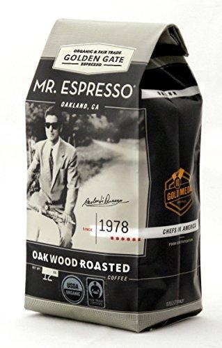 MR. ESPRESSO - ORGANIC GOLDEN GATE HOUSE - MEDIUM - OAK WOOD ROASTED COFFEE