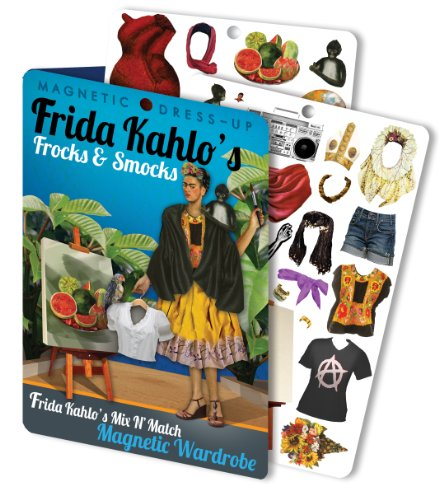Frida's Frocks and Smocks Magnetic Dress Up Doll Play Set