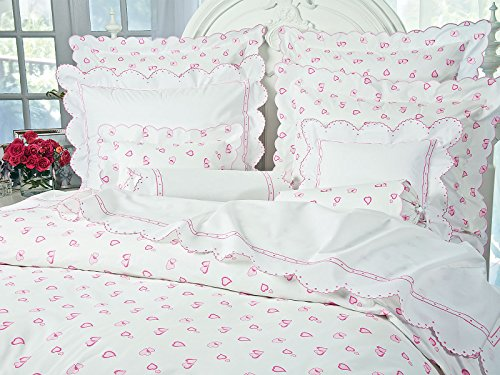 Lovable 21 Shams, Pink (Boudoir, - Sateen Sham Boudoir
