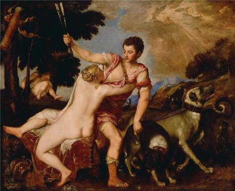 oil-painting-venus-and-adonis-1554-by-tiziano-vecellio-printing-on-high-quality-polyster-canvas-24x2