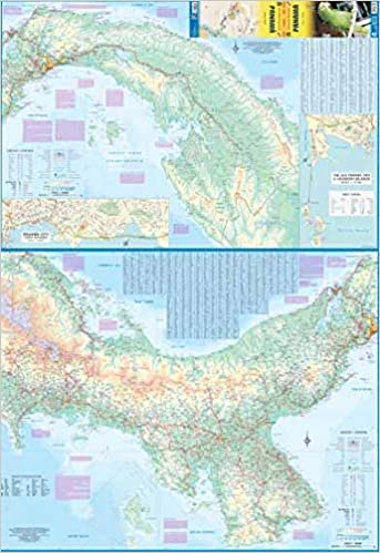 Panama 1:300, 000 Travel Map & Panama City: ITM Canada ...