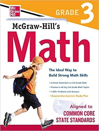 McGraw-Hill Math Grade 3 1, McGraw-Hill Education - Amazon.com