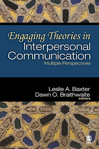 Engaging Theories in Interpersonal Communication: Multiple Perspectives