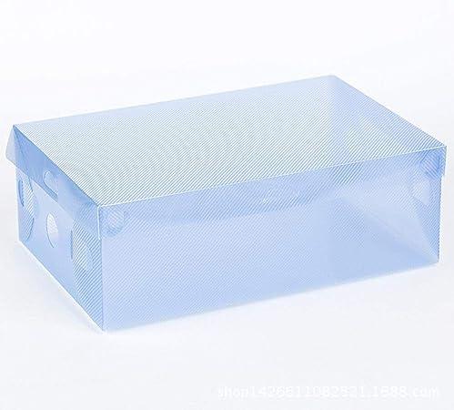 Axiba Cajas de almacenaje Tapa Tipo Zapato Caja plástico misceláneas semiabiertas Caja de plástico de los PP: Amazon.es: Hogar