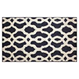 Jean Pierre Mozart 24 X 60'' Textured Decorative Accent Rug, Runner, Grey/Berber